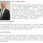 Kamillo Kluth auf SEO-Trainee