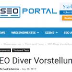 SEO Portal - Vorstellung des SEO DIVER