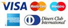 Kreditkarten akzeptiert